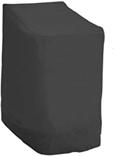 Oferta de Ghopy Funda Protectora Sillas de Jardín Funda para Sillas Apilables de Jardín y Balcón Impermeable 210D Oxford Resistente ... por 12,99€