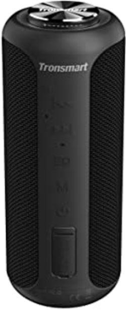 Oferta de Tronsmart T6 Plus Edición Mejorada Altavoz Bluetooth 40W, Altavoz Portatil Sonido Estéreo 360°TWS, Efecto de Triple Bajo P... por 49,69€