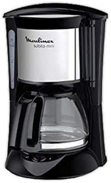Oferta de Cafetera de goteo MOULINEX FG150813 | MOULINEX 6 tazas por 24,99€
