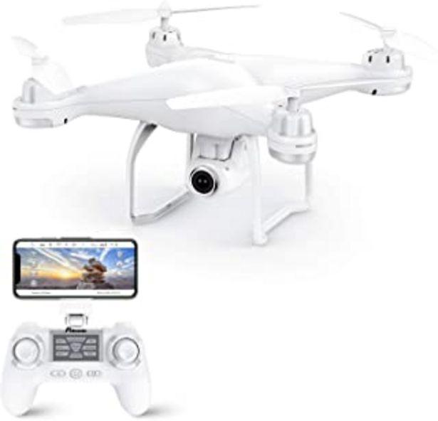 Oferta de Potensic Drone GPS, Drone con Cámara 1080P HD con Follow Me, 120º Gran Angular, RTF Altitude Hold, Modo Sin Cabeza y Retor... por 123,22€