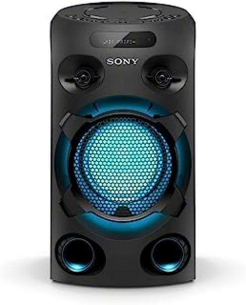 Oferta de Sony MHC-V02 - Sistema de Audio de Alta Potencia (Bluetooth, Sonido de Graves de Largo Alcance Jet Bass Booster, luz Azul,... por 159€