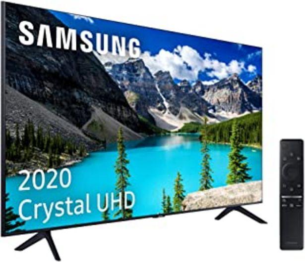 """Oferta de Samsung Crystal UHD 2020 50TU8005 - Smart TV de 50"""" con Resolución 4K, HDR 10+, Crystal Display, Procesador 4K, PurColor, ... por 499,99€"""