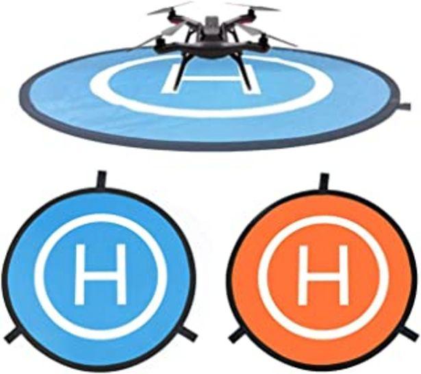 Oferta de CaLeQi Almohadilla de Aterrizaje para Dron Universal Impermeable portátil Plegable Almohadillas de Aterrizaje 55cm/21,65 '... por 10,99€