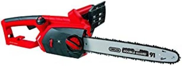 Oferta de Einhell GE-EC 2240 -Motosierra eléctrica (2200W, longitud de corte: 37.5cm, velocidad de coste: 15m/s, 7800rpm, espada y c... por 69,79€