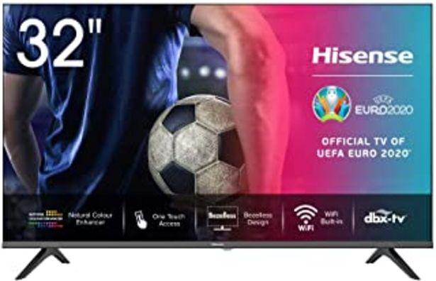 Oferta de Hisense HD TV 2020 32AE5500F - Smart TV Resolución HD, Natural Color Enhancer, Dolby Audio, Vidaa U 2.5, HDMI, USB, Salida... por 229,99€