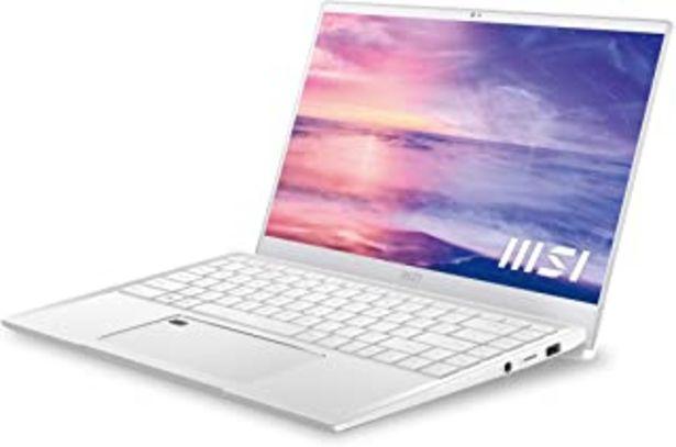 """Oferta de MSI Prestige 14 A11SCX-060ES - Ordenador portátil de 14"""" FullHD (Intel Core i7-1185G7, 16GB RAM, 1TB SSD, Nvidia GTX1650-4... por 1349€"""