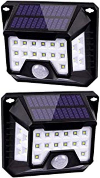 Oferta de Luz Solar Exterior 32 LED HIFAIRY 270°Iluminación Foco Solar Potente con Sensor de Movimiento Impermeable Lámpara Solar pa... por 19,52€
