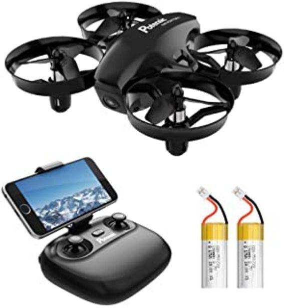 Oferta de Potensic Mini Drone para Niños con Cámara, RC Quadcopter 2.4G 6 Ejes - Altitude Hold, Modo sin Cabeza, Control Remoto, Aju... por 55,99€