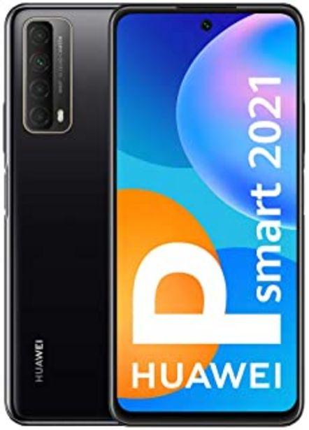 Oferta de HUAWEI P Smart 2021 - Smartphone con Pantalla de 6,67 Pulgadas Full HD, 4GB de RAM y 128 GB de ROM, 22.5W HUAWEI Superchar... por 178,23€