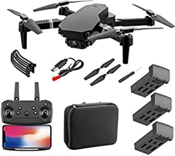 Oferta de JJDSN 4DRC F4 GPS Drone con cámara 4K para Adultos Quadcopter con 5GHz FPV Video en Vivo GPS Regreso a casa Motor sin esco... por 74€