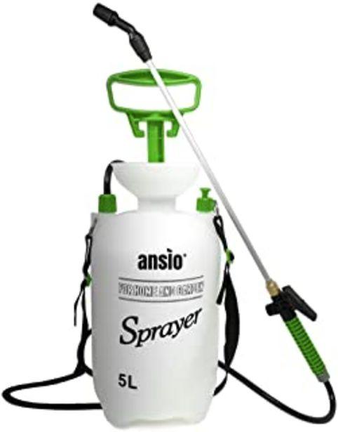Oferta de Pulverizador Jardin 5 litros, Pulverizador Presion, Bomba Agua Manual Ideal con Herbicidas, Pesticidas, Herbicidas, Insect... por 19,97€