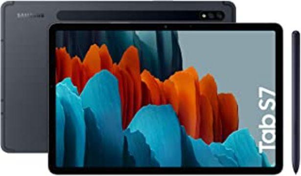 """Oferta de Samsung Galaxy Tab S7 - Tablet de 11"""" con pantalla QHD (Wi-Fi, Procesador Qualcomm Snapdragon 865+, RAM de 6GB, ROM de 128... por 599€"""