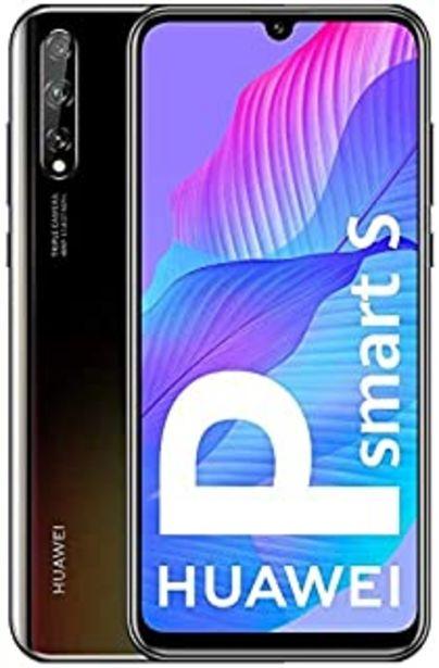 """Oferta de HUAWEI P Smart S - Smartphone con Pantalla OLED de 6.3"""" (4GB DE RAM + 128GB de ROM, Cámara Triple AI de 48MP, Lente Ultra ... por 162,85€"""