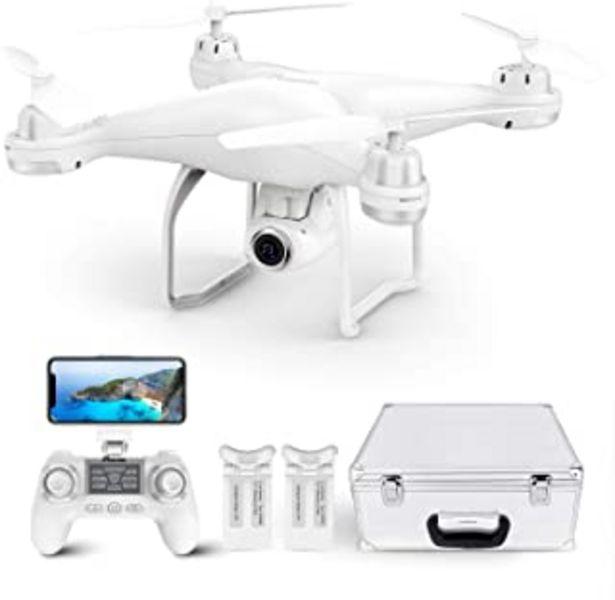 Oferta de Potensic T25 Drone GPS de 9 Ejes Remoto Giroscopio Mejorado con 120 ° de Ángulo Amplio Ajustable Cámara, Drone Profesional... por 199,99€
