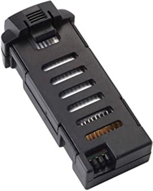 Oferta de Tech rc Batería de Lipo recargable de 3,7 V 500 mAh para Mini Drone TR008/TR008W por 16,99€