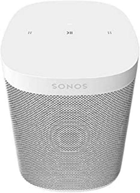 Oferta de Sonos | One SL Altavoz Inteligente Sin Micrófonos, Multiroom y Streaming WiFi, Control App Sonos Controller, Compatible iO... por 165,22€