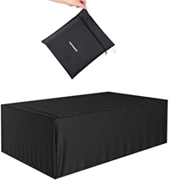 Oferta de Homezest Funda para Muebles de Jardín, Copertura Impermeable y Anti-UV 420D Oxford Fundas de Muebles por 9,99€
