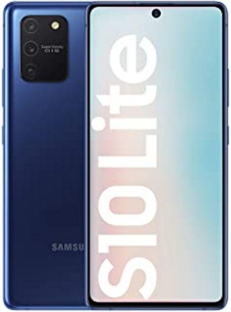 "Oferta de Samsung Galaxy S10 Lite - Smartphone de 6.7"" FHD+ (4G, 8GB RAM, 128GB ROM, cámara trasera 48MP+12MP(UW)+5MP(Macro)+5MP, cá... por 509€"
