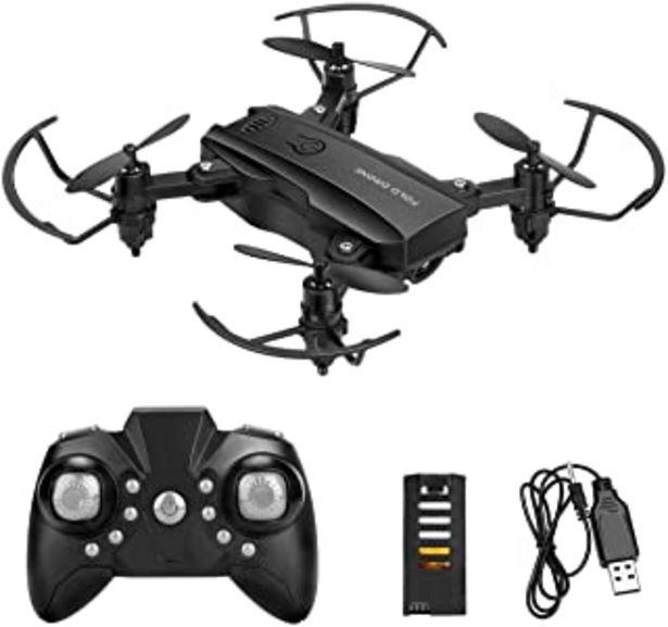 Oferta de NOBRAND Mini Drone Helicopter para niños Powcan RC Drone Flying Toys 2.4G Quadcopter de Control Remoto con 2 baterías, Alt... por 29,99€