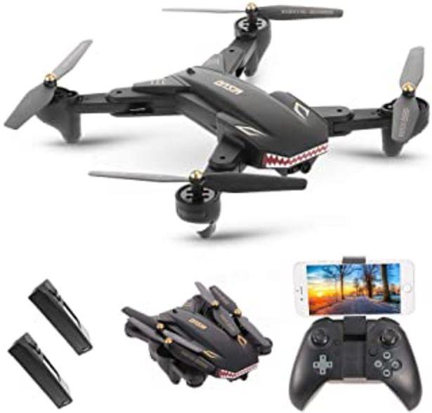 Oferta de Goolsky VISUO XS809S WiFi FPV Drone con 2.0MP Cámara Gran Angular One Key Return Altitude Hold G-Sensor Quadcopter con una... por 56,99€