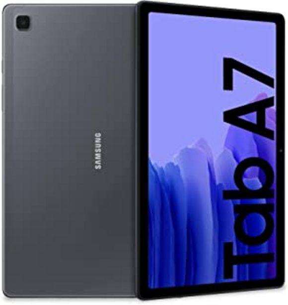 Oferta de SAMSUNG Galaxy Tab A7 LTE - Tablet 32GB, 3GB RAM, Gris (Dark Gray) por 269,99€