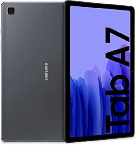 Oferta de SAMSUNG Galaxy Tab A7 LTE - Tablet 32GB, 3GB RAM, Gris (Dark Gray) por 224,99€