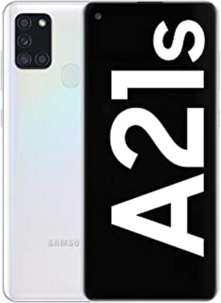 """Oferta de Samsung Galaxy A21s - Smartphone de 6.5"""" (4 GB RAM, 128 GB de Memoria Interna, WiFi, Procesador Octa Core, Cámara Principa... por 199€"""