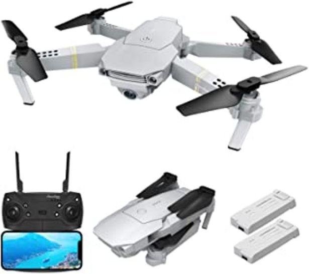 Oferta de EACHINE E58 Pro Drone Camara 2K GPS FPV 3D Visión Ajustar la Lente Automáticamente Trayecotoría de Vuelo Regalo Navidad por 94,99€