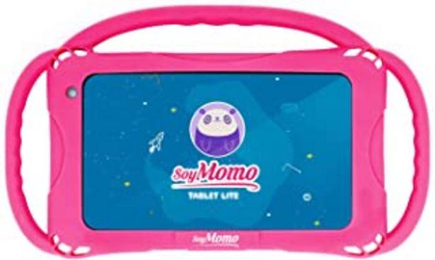 Oferta de SoyMomo Tablet Lite - Tablet para niños con Control Parental, Detección de Contenido Peligroso, Pantalla 7 Pulgadas, 16 GB... por 64,99€