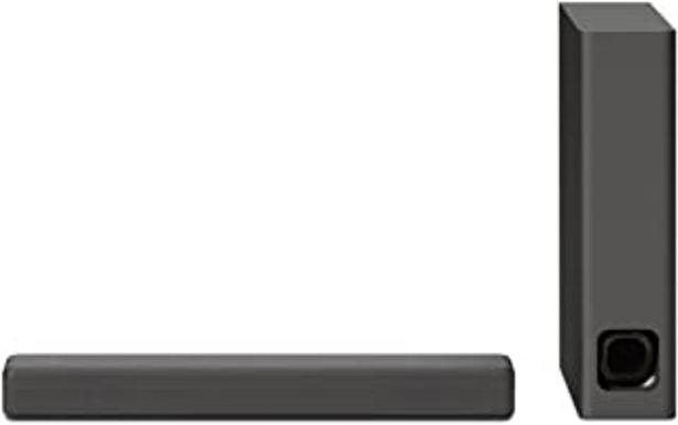Oferta de Sony HT-MT300 - Barra de sonido compacta (2.1 canales, con Bluetooth, NFC, S-Force Pro Front surround, subwoofer inalámbri... por 149€