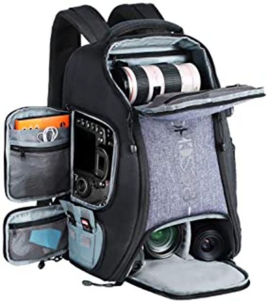 """Oferta de Beschoi - Mochila Fotografía para Cámara Réflex Nikon Canon Sony Tripode Tablet 15,6 """"con Funda de Lluvia por 56,99€"""