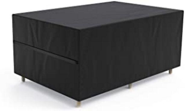 Oferta de Govvay Cubierta de Muebles de Jardín Funda Protectora para Muebles Impermeable Anti-UV 420D Oxford Protección Exterior Mue... por 30,99€