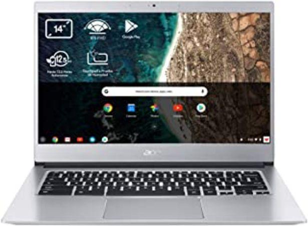 "Oferta de Acer Chromebook 314 - Portátil 14"" FullHD (Intel Celeron N4020, 4GB RAM, 64GB eMMc, Intel UHD Graphics, Chrome OS), Teclad... por 249,99€"