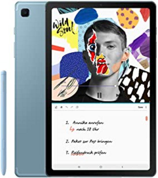 Oferta de Samsung Galaxy Tab S6 Lite WiFi - 64GB, 4GB, Azul por 372€