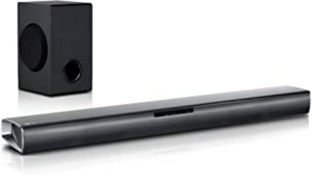 Oferta de LG SJ2 - Barra de sonido inalá (2.1 channels, 160 W, 60 W, 10 cm, 100 W, Inalámbrico y alámbrico) por 95,77€