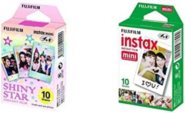 Oferta de Fujifilm Instax Mini - Película fotográfica (10 unidades), color estilo por 18,49€