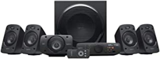 Oferta de Logitech Z906 5.1 Sistema de Altavoces Sonido Envolvente THX, Certificado Dolby&DTS, 1000 W de Pico, Multi-Dispositivos, E... por 279,47€