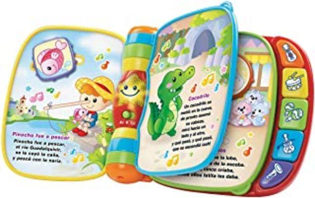 Oferta de VTech - Primeras canciones, libro interactivo para bebé +6 meses con las canciones infantiles más populares, aprende instr... por 20,85€