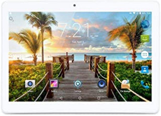Oferta de Android 7 Nougat Tablet 10 Pulgadas con Ranuras para Tarjetas Dual Sim Quad Core 3G Teléfono Desbloqueado Tablet 4GB RAM 6... por 61€