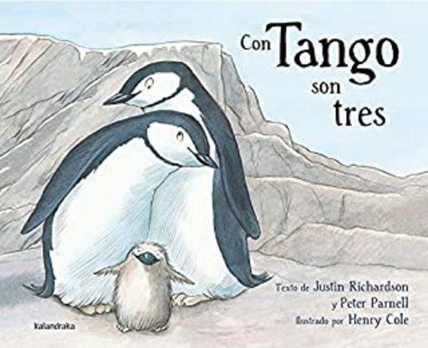 Oferta de Con Tango son tres (libros para soñar) por 14,25€