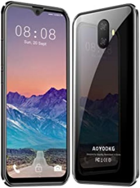 Oferta de Moviles Libres 4G LTE,3GO RAM+32GO ROM,Android 9.0 Google Certificación GMS,5.5 Pulgadas Smartphone Libre Dual SIM, 3400mA... por 74,99€