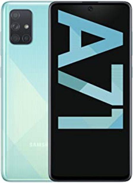 "Oferta de Samsung Galaxy A71 - Smartphone de 6.7"" FHD+ (4G, Dual SIM, 6 GB RAM, 128 GB ROM, Cámara Trasera 64.0 MP + 12.0 MP (UW) + ... por 302,5€"