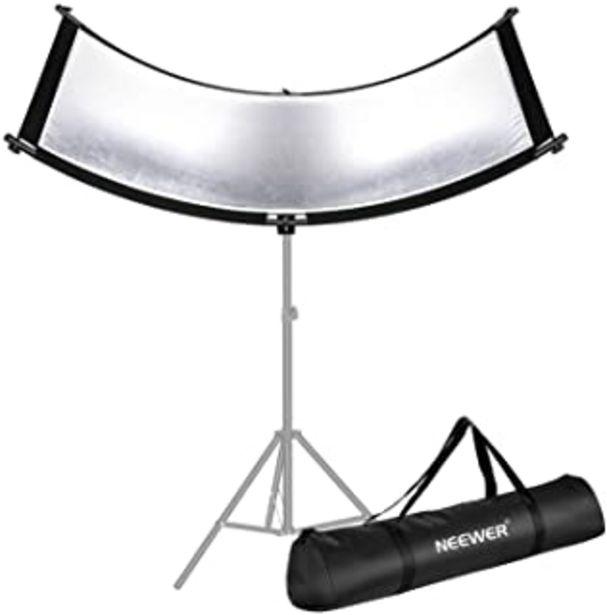 Oferta de Neewer Casa Molusco Luz Reflector/Difusor para Estudio y Fotografía con Bolsa de Transporte 167x61cm Luz de Arco Curvo Luz... por 67,94€
