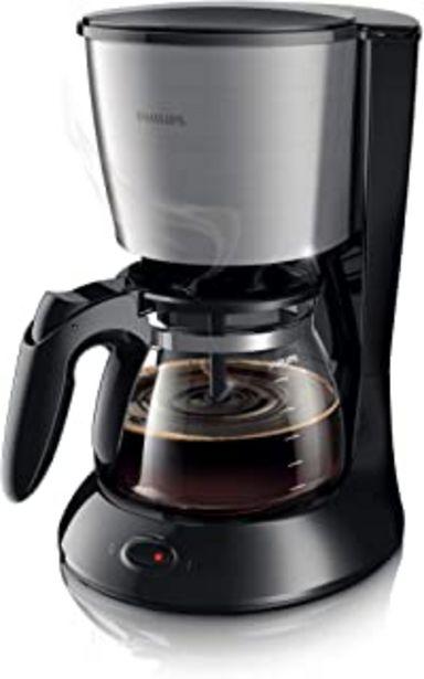 Oferta de Philips Daily Colection HD7462/20 - Cafetera de filtro con capacidad para 10-15 tazas por 35,28€