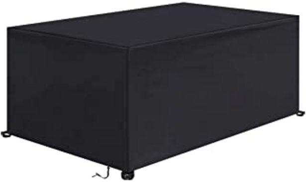 Oferta de IREGRO Funda Muebles Jardín Cubierta de Protección para Mesa Muebles mpermeable 420D Oxford para Sofa de Jardin,Patio,al A... por 30,99€