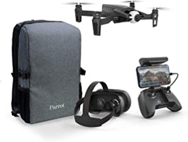 Oferta de Parrot PF728050 Anafi - FPV Dron Pack - Quadcopter Hiper Ligero y Plegable - FPV Cockpitglasses 3 para Vuelos Inmersivos e... por 649€