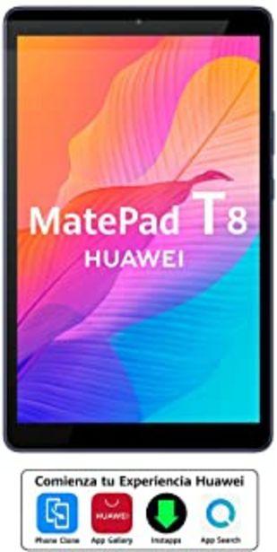 """Oferta de HUAWEI MatePad T8 - Tablet de 8"""" (Wifi, RAM de 2GB, ROM de 16GB, procesador Octa-core, Diseñada para sus hijos, Sistema Op... por 97,1€"""