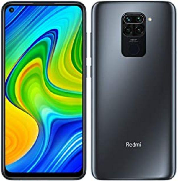 "Oferta de Redmi Note 9 Smartphone 4GB 128GB Hotshot de cámara cuádruple de 48MP 6.53"" FHD+ DotDisplay 5020 mAh 3.5mm Headphone Jack ... por 179€"