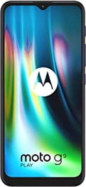 """Oferta de Motorola Moto G9 Play - Pantalla Max Vision HD+ de 6.5"""", procesador Qualcomm Snapdragon 662, sistema de triple cámara de 4... por 149€"""