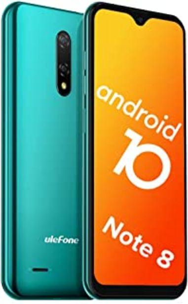 "Oferta de Teléfono Móvil Libre, Ulefone Note 8 Android 10 3G Smartphone Libre, 2GB RAM 16GB ROM (128GB SD) Smartphone, Pantalla 5.5""... por 59,49€"